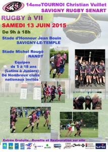 Savigny Le Temple se met en mode rugby.