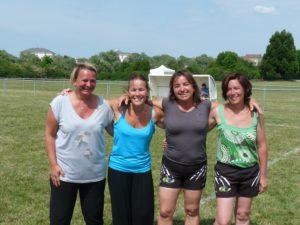 Les futures féminines de savigny rugby sénart